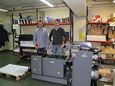 Duplo 2000 w drukarni Pozkal